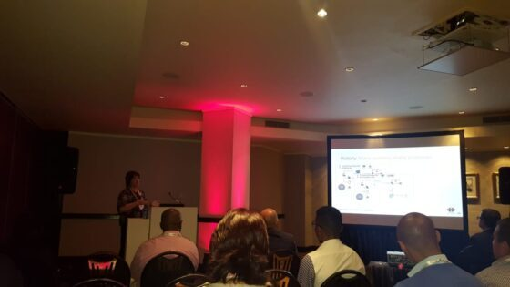 Louise Nel, AP Manager at Netcare – presenting on AP Automation